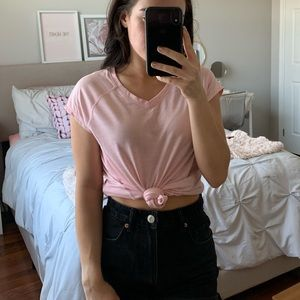 Tops - 3 for $30  Baby Pink V Neck Tee